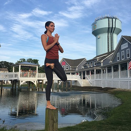 obx yoga instructor caroline habboush